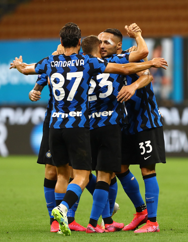 Le migliori immagini di Inter-Napoli 2-0.