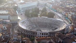 La finale di Supercoppamaschile all'Arena di Verona