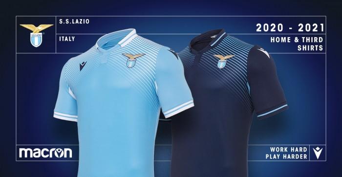 Lazio, le nuove maglie 2020/21 | Foto - Sportmediaset