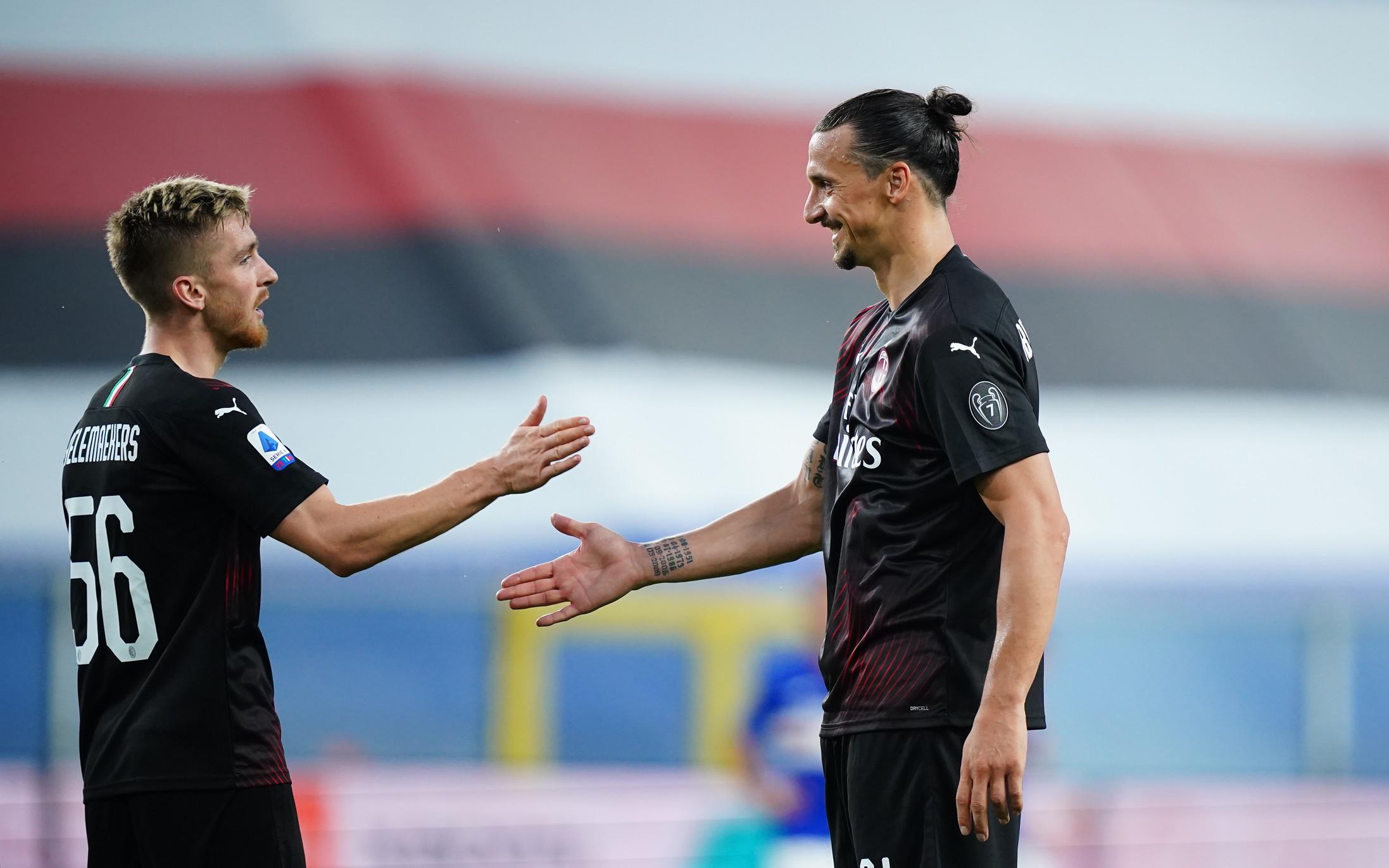 Le migliori immagini di Sampdoria-Milan 1-4