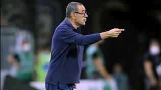 """Sarri: """"La Lega ci ha messo in difficoltà, contro la Roma con l'U23"""""""