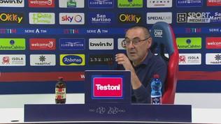 """Sarri: """"La Lega ci mette in difficoltà, valuteremo l'Under 23"""""""