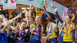 Date e formula della Supercoppa femminile: Conegliano in semifinale