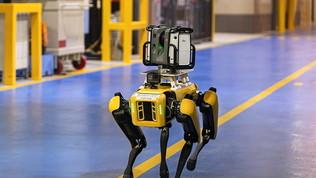 Fluffy, i robot a quattro zampe sceltida Ford per Van Dyke