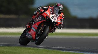 Primo trionfo in Ducati per Redding, rimonta di cuore per Melandri