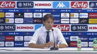"""Inzaghi: """"Orgoglioso per Immobile e per la stagione"""""""