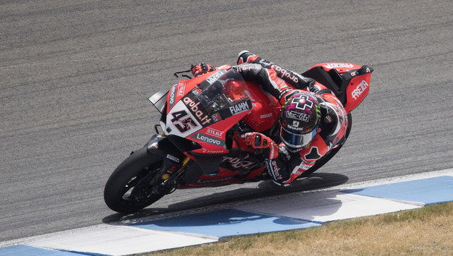 Dominio Ducati con Redding e Daviesin gara-2: Rea affonda, super Rinaldi