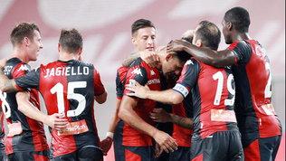 Il Genoa cala il tris salvezza, Lecce sconfitto dal Parma e in B