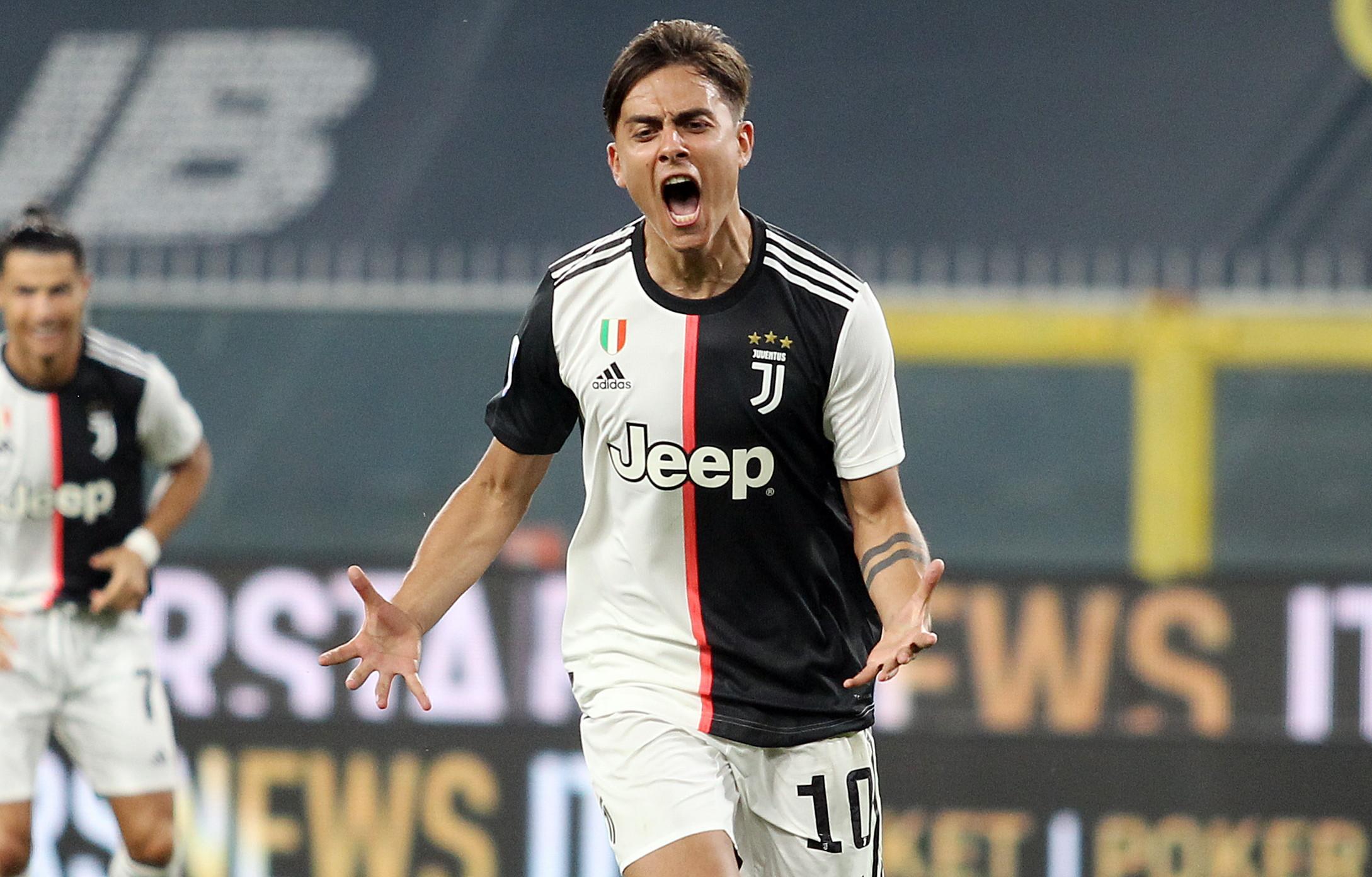 Esterno destro: Dybala (Juventus)