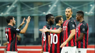 Al Milan lo scudetto d'estate: che numeri post lockdown