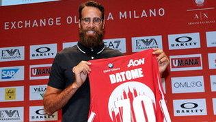 """Olimpia Milano, ecco Datome: """"Voglio vincere in Italia"""""""