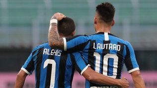 Inter, Sanchez insidia Lautaro | Roma, dubbio Pellegrini