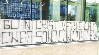 """La Curva Nord si schiera: """"Gli interisti veri sono con Conte"""""""