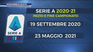 Nuova Serie A, le nuove date