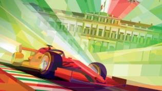 Il GP di Monza e la velocità in versione futurismo
