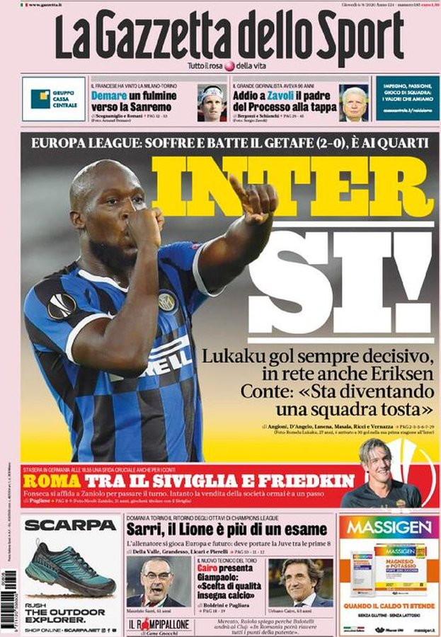Rassegna stampa dei quotidiani italiani ed esteri.