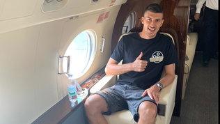 Monza, Maric sbarca in Italia con l'aereo del patron Berlusconi