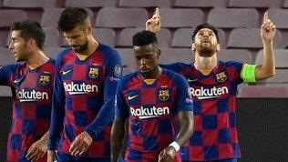 Napoli, niente impresa: super Messi porta il Barça ai quarti