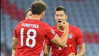 Champions, il Bayern è un rullo
