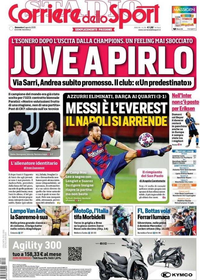 <p>Lo sport sui quotidiani italiani ed esteri</p>