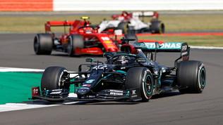 F1, GP 70° anniversario: le foto del trionfo di Verstappen