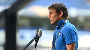 """Conte: """"Vogliamo la finale di Europa League, ma dobbiamo meritarcela"""""""
