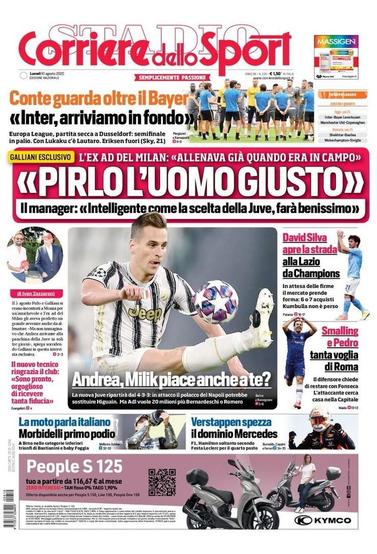 <p>Le prime pagine, e non solo, dei quotidiani italiani ed esteri in edicola oggi</p>