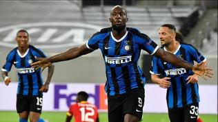 Conte esulta con Barella e Lukaku: Inter in semifinale di Europa League
