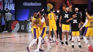 Nba: Lakers in volo, Bucks ko. Cade OKC senza Gallinari