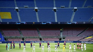 Un positivo al Covid al Barcellona: non fa parte del gruppo Champions