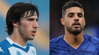 L'Inter non molla Tonali e va decisa su Emerson Palmieri