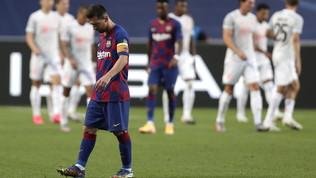 Barça, tracollo record: non subiva otto gol dal 1946