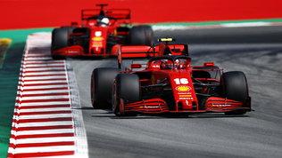 """Speranza Leclerc: """"In gara tutto è possibile"""". Vettelgiù: """"Poca fiducia"""""""