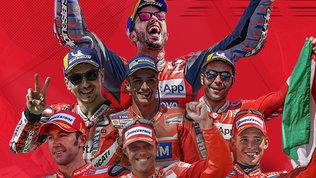 Da Capirossi a Dovizioso, passando per Stoner: le 50 vittorie Ducati