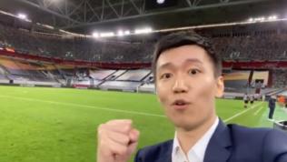 """Steven Zhangai tifosi: """"Andiamo in finale tutti insieme!"""" VIDEO"""