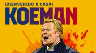 """Il Barcellona riparte da Koeman: """"Messi? Parlerò con lui, spero rimanga"""""""