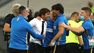 """Conte: """"Stagione positiva, se saremo i migliori vinceremo l'Europa League"""""""