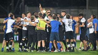 """Festa Spezia: gli """"Aquilotti"""" volano in Serie A"""