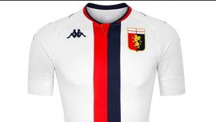 Genoa, la nuova maglia da trasferta tra novità e tradizione