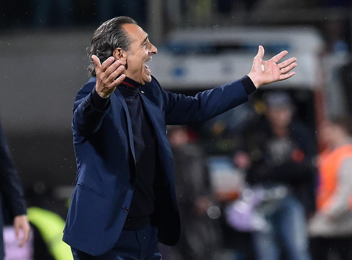 Cesare Prandelli: dopo la salvezza col Genoa, due stagioni fa, è rimasto senza squadra