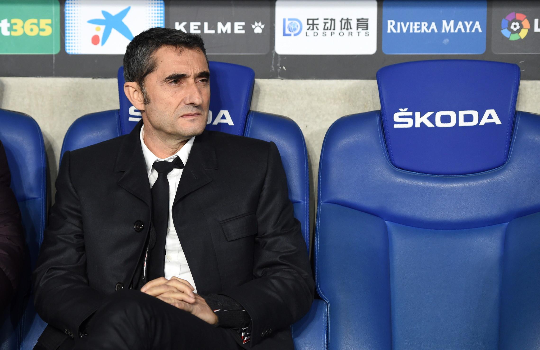 Ernesto Valverde: esonerato dal Barcellona a gennaio, con cui ha ancora un contratto