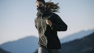 Correre con la mascherina, istruzioni per l'uso