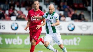 Groningen, Robben torna in campo: mezzora in amichevole