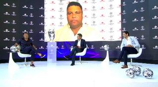 """Inter, Ronaldo e Figo in coro: """"Dispiaciuti per la finale di Europa League"""""""