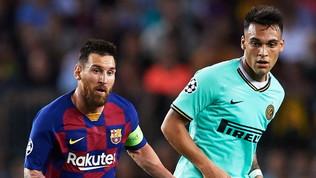 Lautaro per convincere Messi, ma Leo non crede nel progetto Koeman