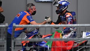 """Oliveira: """"Che emozione"""". Miller ed Espargaro: """"Peccato, siamo andati larghi"""""""