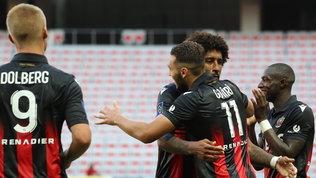 Il Lens spaventa Vieira, ma il Nizza passa in rimonta: pari per il Monaco