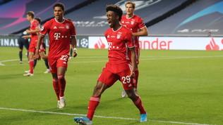 Coman stende il Psg, Bayern campione d'Europaper la 6a volta