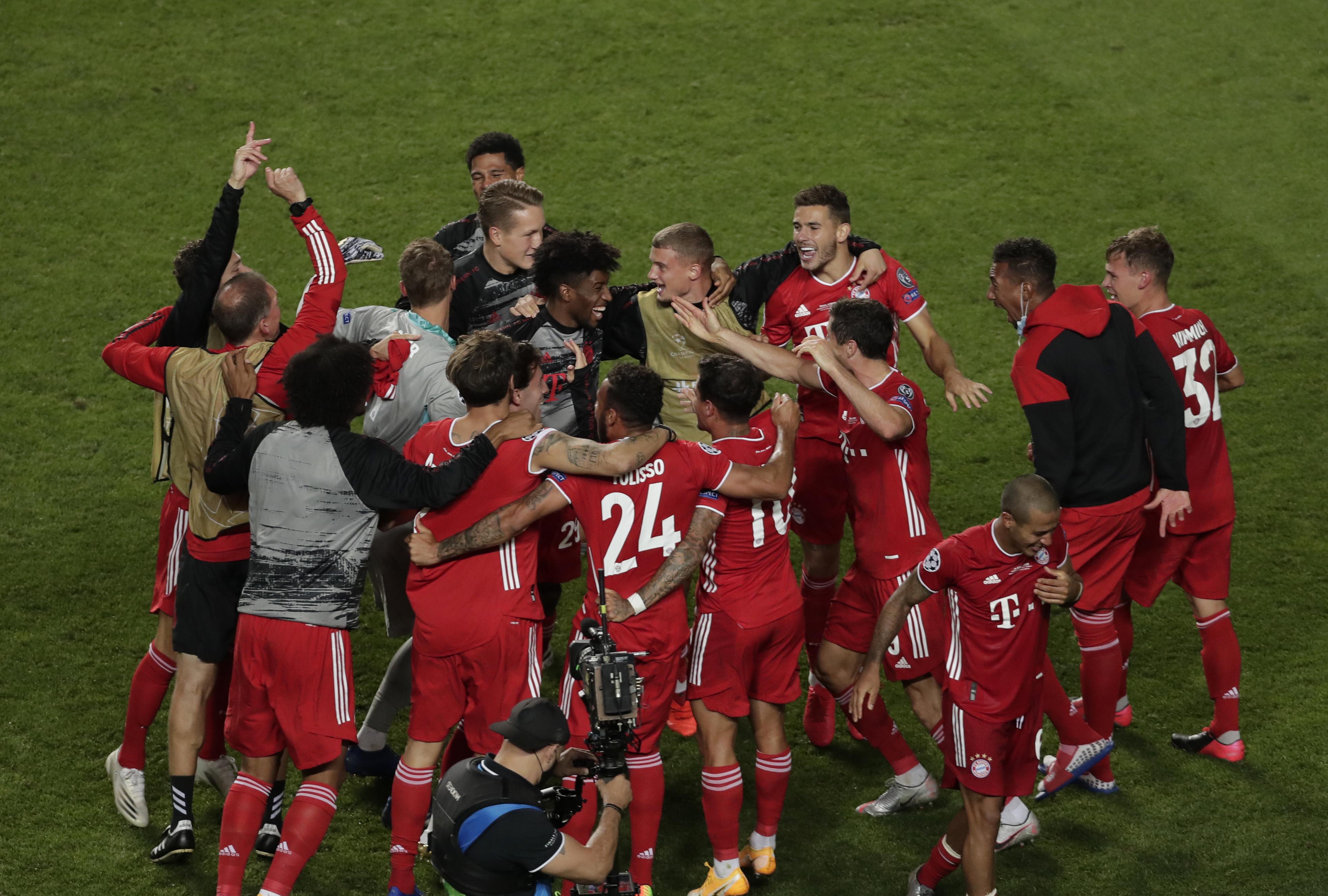 Bayern, 2020. Finale vinta 1-0 col Psg