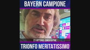 """Pardo: """"Bayern campione, trionfo meritatissimo"""""""
